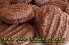 Romany creams is a wonderful cookie and the homemade version is beautiful...
