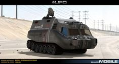 3D model from Tv show UFO by RAF-MX on deviantART | Gerry Anderson