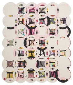 Victoria Findlay Wolfe....I really like the non traditional form of this quilt