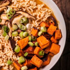 Miso Ramen with Roasted Vegetables Recipe
