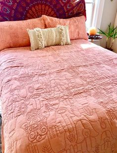 """I am blown away with this gorgeous bedding, not only is the design stunning the quality is truly amazing!"" - Sarah K."
