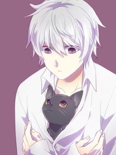 Near with a cat :3