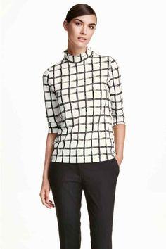 Bluză cu guler rulat | H&M