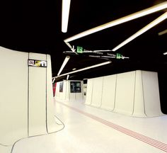 Metro Station Drassanes, BarcelonaDrassanes is a metro station in Barcelona's Ciutat Vella district at the old docks of Port Vell.  From The Cool Hunter