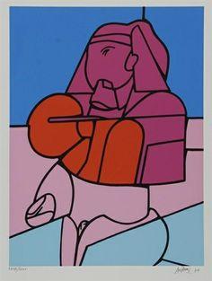 Valerio Adami, Senza titolo, 1970