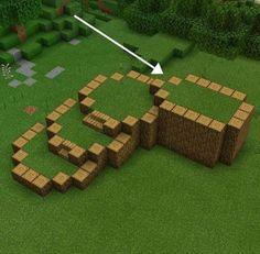 Minecraft Farm, Minecraft Cottage, Easy Minecraft Houses, Minecraft House Tutorials, Minecraft Plans, Minecraft House Designs, Minecraft Decorations, Amazing Minecraft, Minecraft Survival