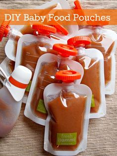 DIY Baby Food Pouches with Fresh Squeezed by Infantino
