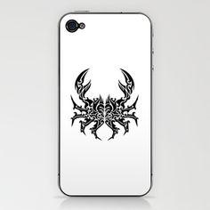 Cancer iPhone & iPod Skin by Mario Sayavedra - $15.00