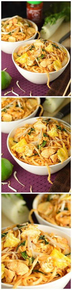 Mee Goreng are spicy Indonesian noodles that have a deep nutty flavor and a hint of spice.