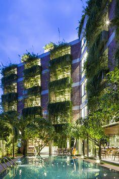 Atlas Hotel Hoian - Vo Trong Nghia Architects -  © Hiroyuki Oki