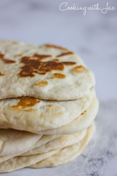 Homemade Naan Bread - the perfect vehicle for curry!