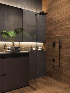Rustic Bathroom Designs, Bathroom Design Luxury, Modern Bathroom Design, Bathroom Design Inspiration, Toilet Design, Small Bathroom, Pin Pin, Autocad, Shower