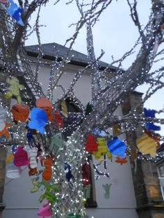 Tree for wishes, Essen Ruhr Area by Mary Mas M