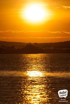 Sunset in Rovaniemi. Lapland Finland, And July, Midnight Sun, Magic, Sunset, City, Nature, Sunsets, Naturaleza