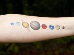 Image result for planet tattoos designs                                                                                                                                                                                 More