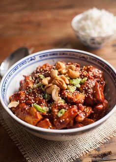 Plakkerige kip uit de Crock-Pot met cashewnoten-6