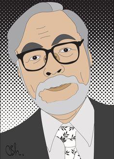 "Carla Soza. Soul. ""Hayao Miyazaki"" http://www.carlasoza.com/CARLA.SOZA.H/soul.html"