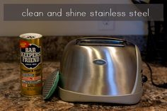 Clean Stainless Steel with Bar Keepers Friend