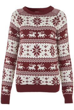 YES it's only October but I am getting excited about buying a Christmas jumper.