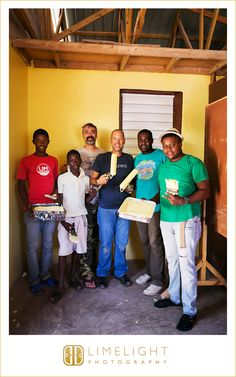 Painting the school that is sponsored by Truth Evangelical Ministries in Z'Orange, Ouest, Haiti. We do this work for our Lord and Savior Jesus Christ. www.stepintothelimelight.com www.truthem.org