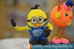 Foam clay Minion Tiny's Hobby