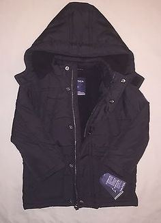 BOYS 2 2T NAUTICA HEAVY WEIGHT FIBER FILL LONG LENGTH HOODED JACKET NWT