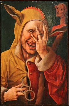 Flemish, Fool, mid 16th, Wellesley College