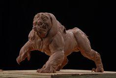 Yrdrig, three headed dog by DaveGrasso.deviantart.com on @deviantART