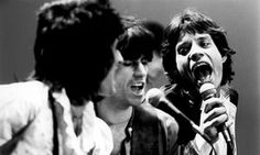 Rolling Stones On Stage In New YorkGuitarist Ronnie Wood, Keith Richards and singer Mick Jagger of the Rolling Stones performing on stage in New York in 1978.