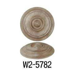 """Keyhole Cover Round Wood Walnut Victorian Beehive Keyhole Cover 1-5//16/"""" Diameter"""