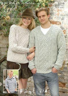 0bece867bcb19 Top 5 Free Aran Jumper Knitting Patterns for Men