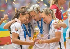The U.S. women's national soccer team's World Cup victory on Sunday was inspiring for girls, despite FIFA's sexist message. #women'ssoccer