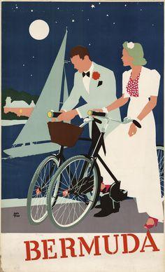 Our Bermuda honeymoon...(ok, so we didn't ACTUALLY ride bikes.)