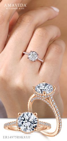 49 Best Rose Gold Engagement Rings Images Engagement Rings Rose
