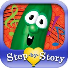 VeggieTales: Step-by-Story® - Larry's Missing Music has hit #1 on the Amazon app store's education app list! It's the latest reading readiness mobile app from Playful Owl. With Step-by-Story, a child as young as 2 can create their own short story through a series of simple choices for over 500 possible story combinations. Download now for an Amazon special price of only $.99!