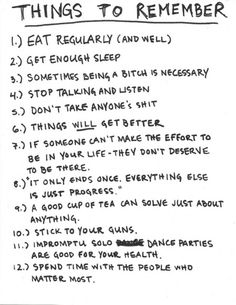 these speak volumes! <3 awesome except #12 should be at the top