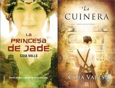 La cuinera. Coia Valls. Valoració: 4,3. La princesa de Jade. Coia Valls. Valoració: 3. http://bibliotecacambrils.blogspot.com.es/2015/03/trobada-del-club-de-lectura-adult.html