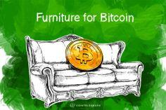 Купить за биткойны: мебель