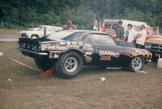 Vintage Racing, Vintage Cars, Cool Car Pictures, Nhra Drag Racing, Chevy Muscle Cars, Race Engines, Car Chevrolet, Old Race Cars, Drag Cars
