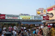 Vote Best Boardwalk Stands 2015! The Wrapper, Love's Lemonade, Boog Powell's BBQ, Pizza Boy, Alaska Stand and more! Click to Vote!