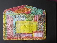 Mail Art Envelope... Anne Doyle