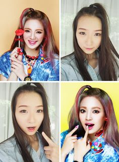 SNSD Baby-G Kiss Me Inspired Makeup Tutorial