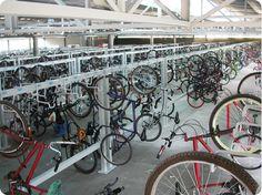 bicicletarios verticais com ganchos - Pesquisa Google
