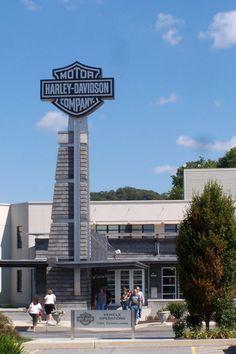 Harley Davidson museum and plant tour York, PA