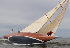 beautiful! awesome! wooden sailboat