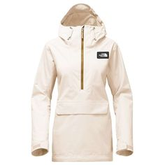 The North Face Women's Tanager Anorak - Large - Buttercream Ivory