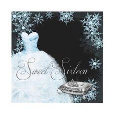 Winter Wonderland Sweet Sixteen