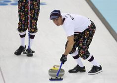 Norwegian Curling Team 2014 | Photo: Norway's curling team's pants for Sochi are high fashion