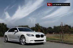 2013 BMW M5 with chrome/white LS-709. Yes it's an M, No you can't drive it!!!