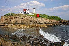 """Cape Neddick """"Nubble"""" Lighthouse, Maine"""
